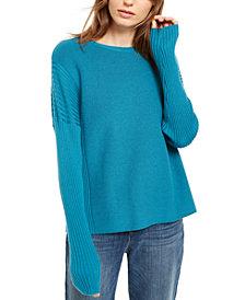 Eileen Fisher Wool Sweater, Regular & Petite- Created for Macy's