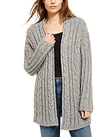 Simple Long Cardigan Sweater