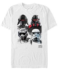 Men's Jedi Fallen Order Trooper Group Sketch T-shirt