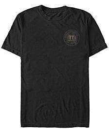 Men's Jedi Fallen Order Map Left Chest Logo T-shirt