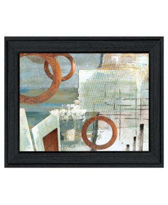Balance this II by Cloverfield Co, Ready to hang Framed Print, Black Print, 19