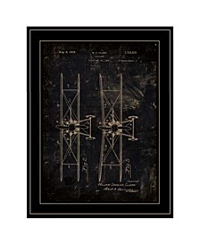 """Airplane Patent I by Cloverfield Co, Ready to hang Framed Print, Black Frame, 15"""" x 19"""""""