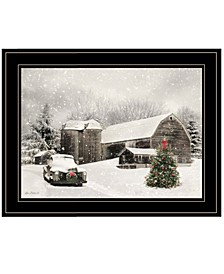 Trendy Decor 4U Farmhouse Christmas by Lori Deiter, Ready to hang Framed Print Collection