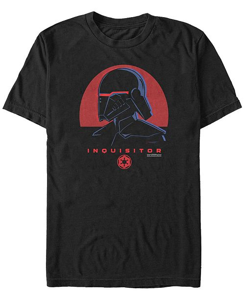 Star Wars Men's Jedi Fallen Order Red Sun Inquisitor T-shirt