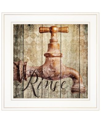 """Rinse by Misty Michelle, Ready to hang Framed Print, White Frame, 15"""" x 15"""""""