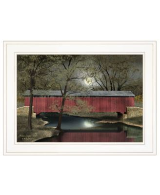 """Warm Summer's Eve by Billy Jacobs, Ready to hang Framed Print, White Frame, 19"""" x 15"""""""