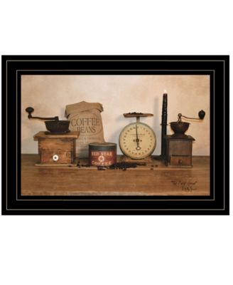 """The Daily Grind by Billy Jacobs, Ready to hang Framed Print, Black Frame, 15"""" x 11"""""""