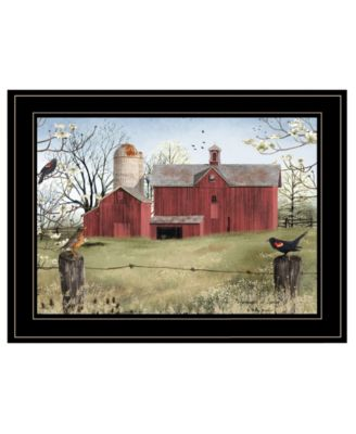 """Harbingers of Spring by Billy Jacobs, Ready to hang Framed Print, Black Frame, 27"""" x 21"""""""
