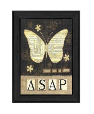 """Always Say a Prayer By Annie LaPoint, Printed Wall Art, Ready to hang, Black Frame, 15"""" x 19"""""""