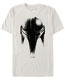 Men's Mandalorian Helmet Sketch T-shirt