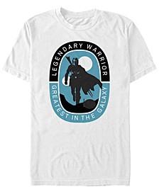 Men's Mandalorian Legendary Warrior Greatest in The Galaxy T-shirt