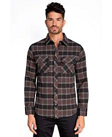 Stretch Flannel Sport Shirt