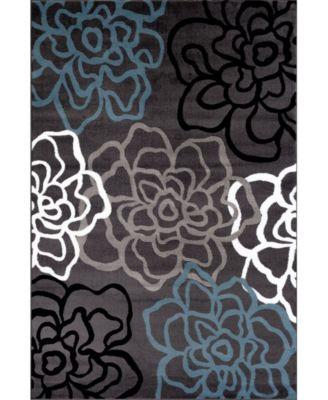 Home Montane Mon108 Gray 10' x 14' Area Rug