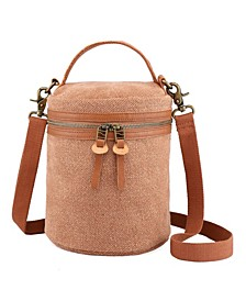 Pine Hill Canvas Bucket Bag