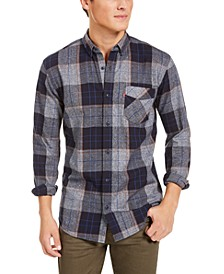 Men's Booth Regular-Fit Plaid Flannel Shirt