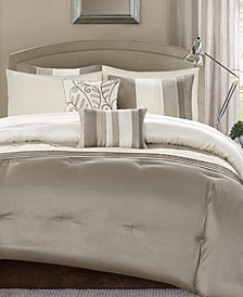 Amherst Khaki 9-Pc. Comforter Sets