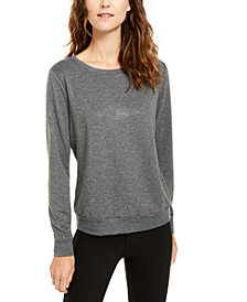 INC Studded Sweatshirt, Created for Macy's