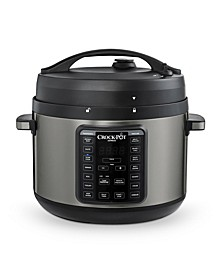 10-Qt. Express Crock Multi-Cooker with Easy Release Steam Dial