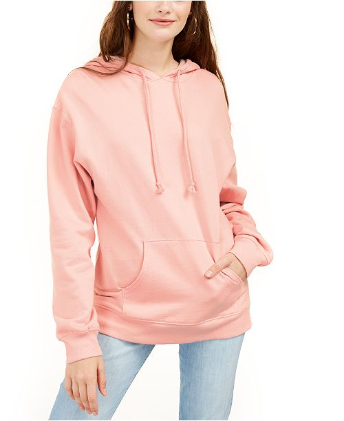 Rebellious One Juniors' Pouch-Pocket Hoodie