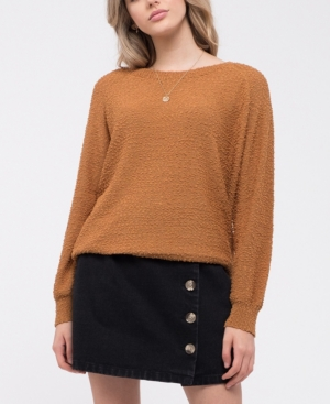Blu Pepper Popcorn Knit Sweater