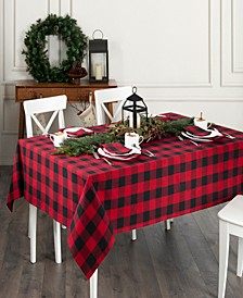 "Farmhouse Living Buffalo Check Tablecloth - 60"" x 84"" Oblong"