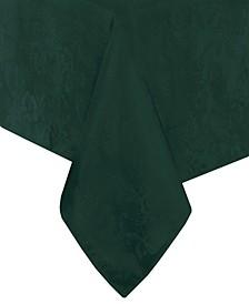 "Elrene Poinsettia Jacquard Holiday Tablecloth - 60"" x 102"""