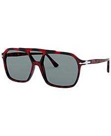 Polarized Sunglasses, PO3223S 59