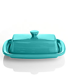 Fiesta Turquoise XL Covered Butter Dish