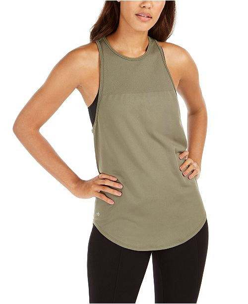 Ideology Racerback Tank Top, Created For Macy's
