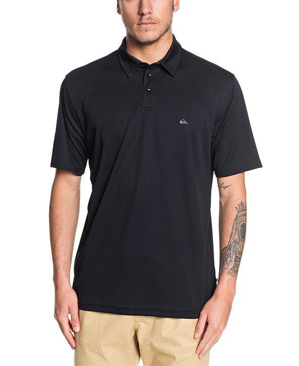Quiksilver Quiksilver Men's Water Polo Short Sleeve Polo Shirt