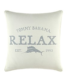 """Tommy Bahama Relax 18"""" X 18"""" Throw Pillow"""