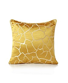 """Jacquard Abstract Accent Pillow 18"""" x 18"""""""