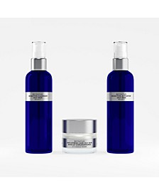 Anti-Aging Treatment Oily Skin with UV Chromophores