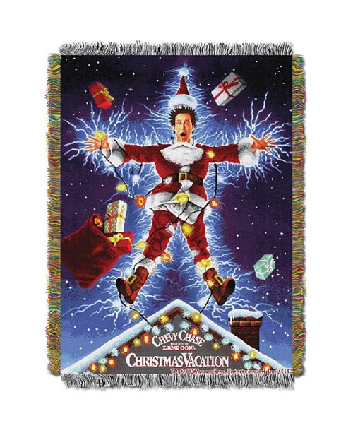 Northwest Company Christmas Vacation Movie Tapestry Throw