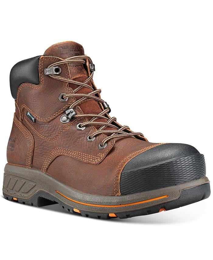 """Timberland - Men's Helix PRO 6"""" Composite Toe Waterproof Boots"""
