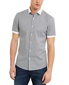 Men's Stretch Gingham Check Shirt