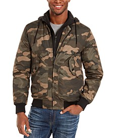 Men's Cortez Camo Bomber Jacket