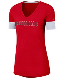 Women's Tampa Bay Buccaneers Dri-Fit Fan Top