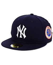 New York Yankees World Series Patch 59FIFTY Cap
