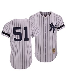 Men's Bernie Williams New York Yankees Authentic Cooperstown Jersey