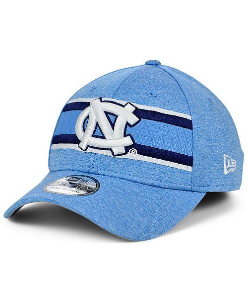 New Era North Carolina Tar Heels Team Color Stripe 39THIRTY Cap