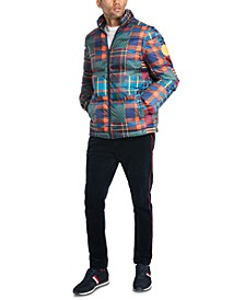 Men's Patchwork Convertible Jacket/Vest