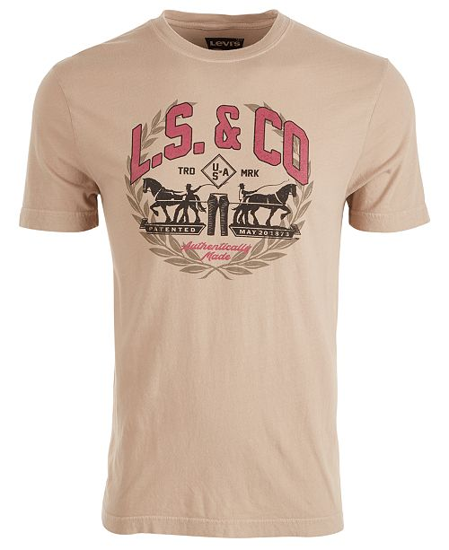 Levi's Men's Fleet Logo Graphic T-Shirt