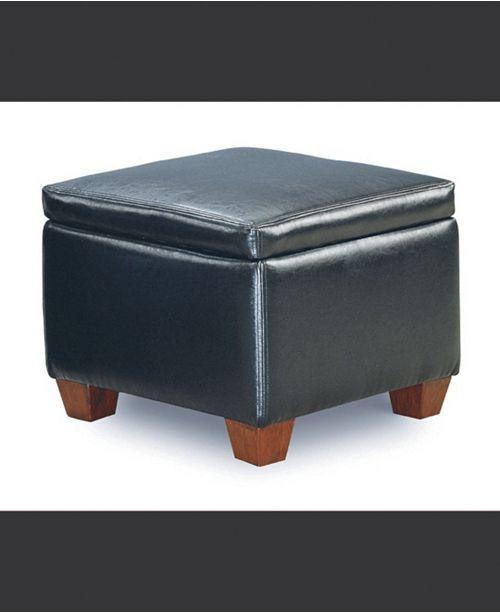 Coaster Home Furnishings Woodland Cube Shaped Storage Ottoman