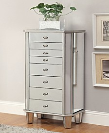 Evansville 7-Drawer Jewelry Armoire