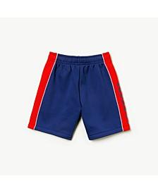 Little and Big Boys Sport Side Stripe Fleece Short