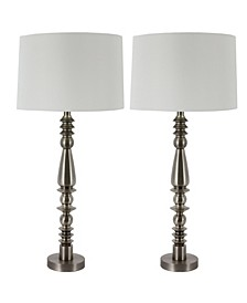 Decor Therapy Eleanor Spun Table Lamps Set of 2