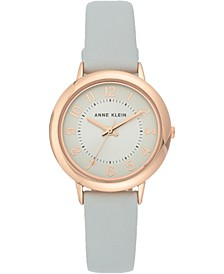 Women's Light Gray Strap Watch 32mm