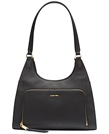 Ava Hobo Leather Shoulder Bag