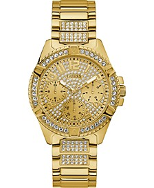 Unisex Gold-Tone Stainless Steel Bracelet Watch 40mm
